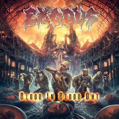 Exodus Blood In Blood Out Artwork