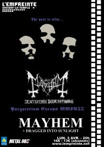 mayhem metalobs