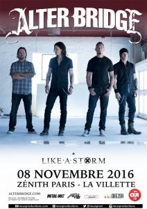 20161108 Alter Bridge Paris
