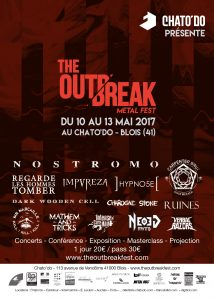 Flyer The Outbreak Chato'do RVB