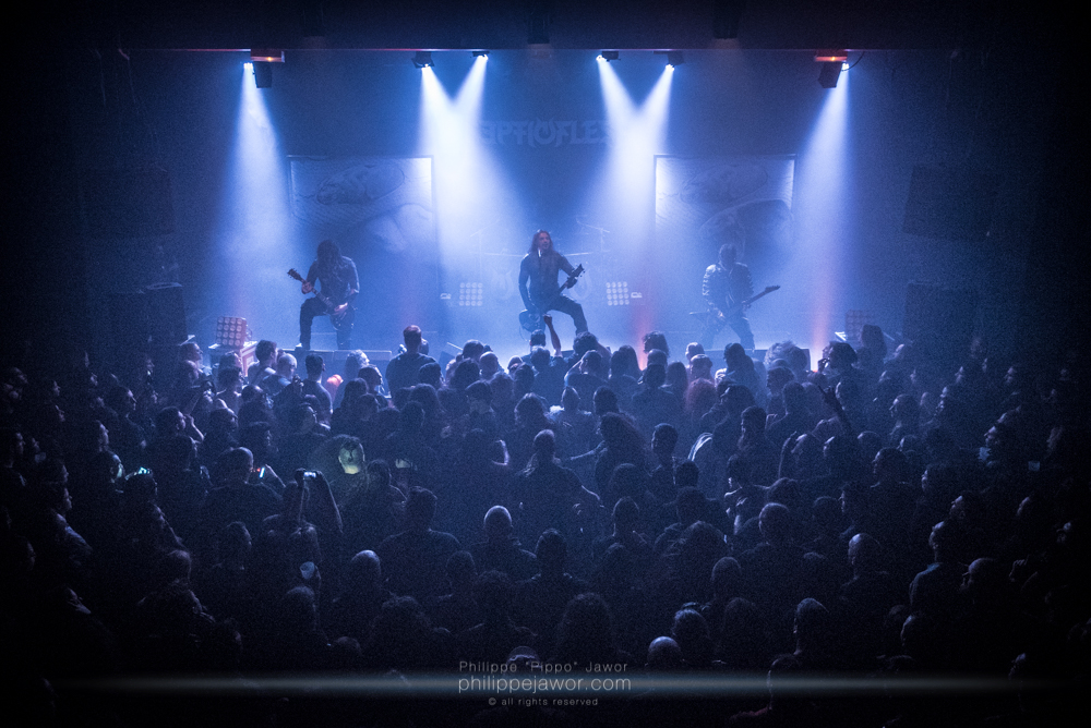 SEPTICFLESH + INQUISITION + ODIOUS <br/> CCO, Lyon – 14.01.2018