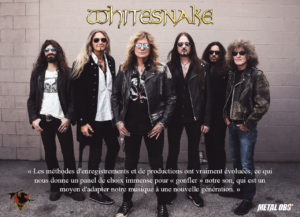 WHITESNAKE : Hoekstraordinaire ! Interview à propos du nouvel opus Flesh & Blood