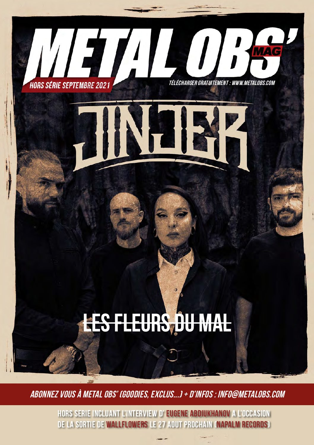 You are currently viewing Hors-série septembre 2021 : JINJER