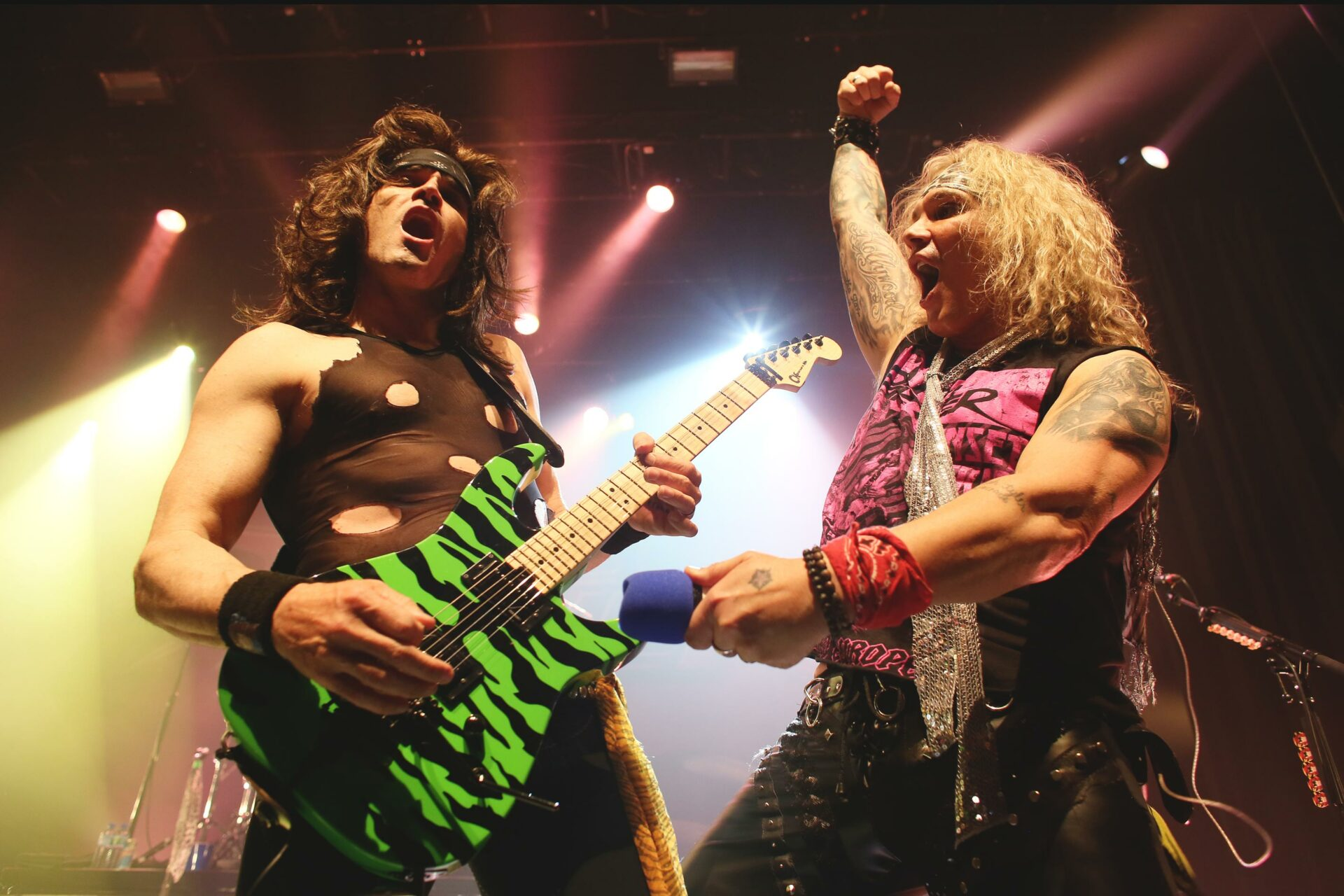 Steel Panther fait revivre les grands moments du légendaire Sunset Strip Boulevard